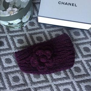 Purple hair band